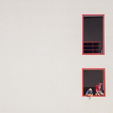 serbe najjar - two red boxes