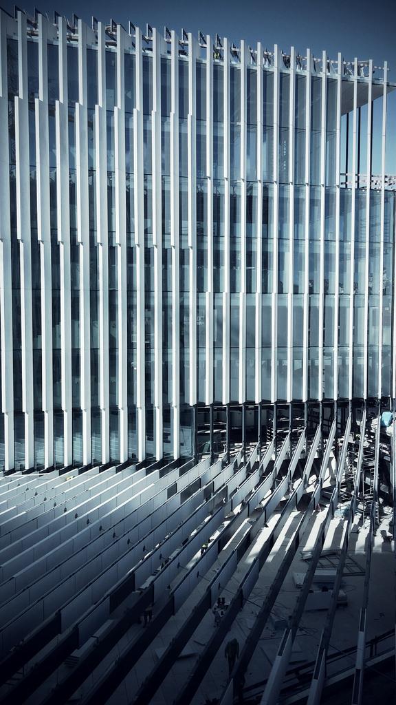 EDP Headquarters construction - ph. Màrio Teixeira