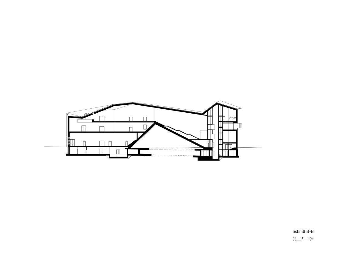 Section © Christ & Gantenbein
