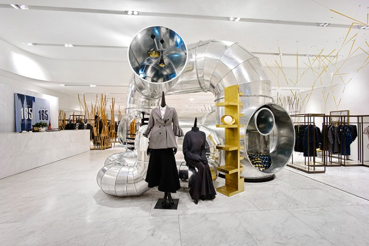 Tubular living installation © People's Architecture Office