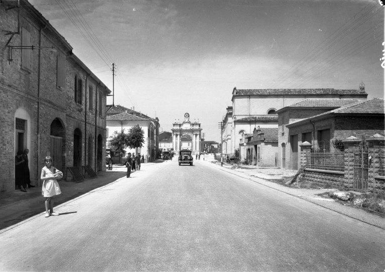 Documentazione ANAS ante 1949, la Via Emilia, Atelier Vasari Roma