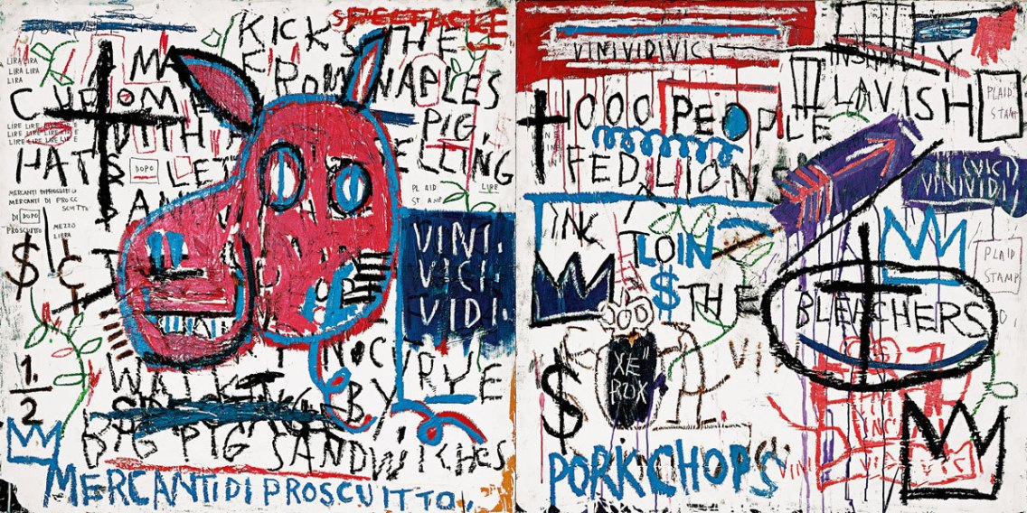 The man from Naples - Basquiat 1982