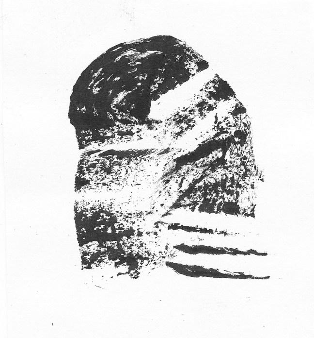 Werther Banfi, Macchia 1, 2016, acriclico su tela, cm 50 x 50