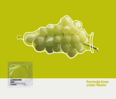 Pantone condom by DarkDesignGroup