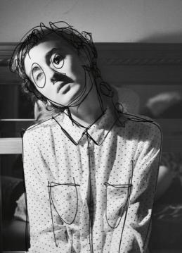 Je vois la vie en niveaux de gris © Germana Stella (Je suis bordeaux)
