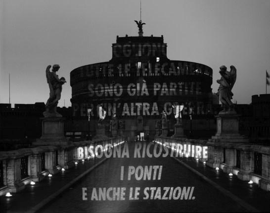 Roma, 2007 © Jenny Holzer, Artists Rights Society (ARS), NY