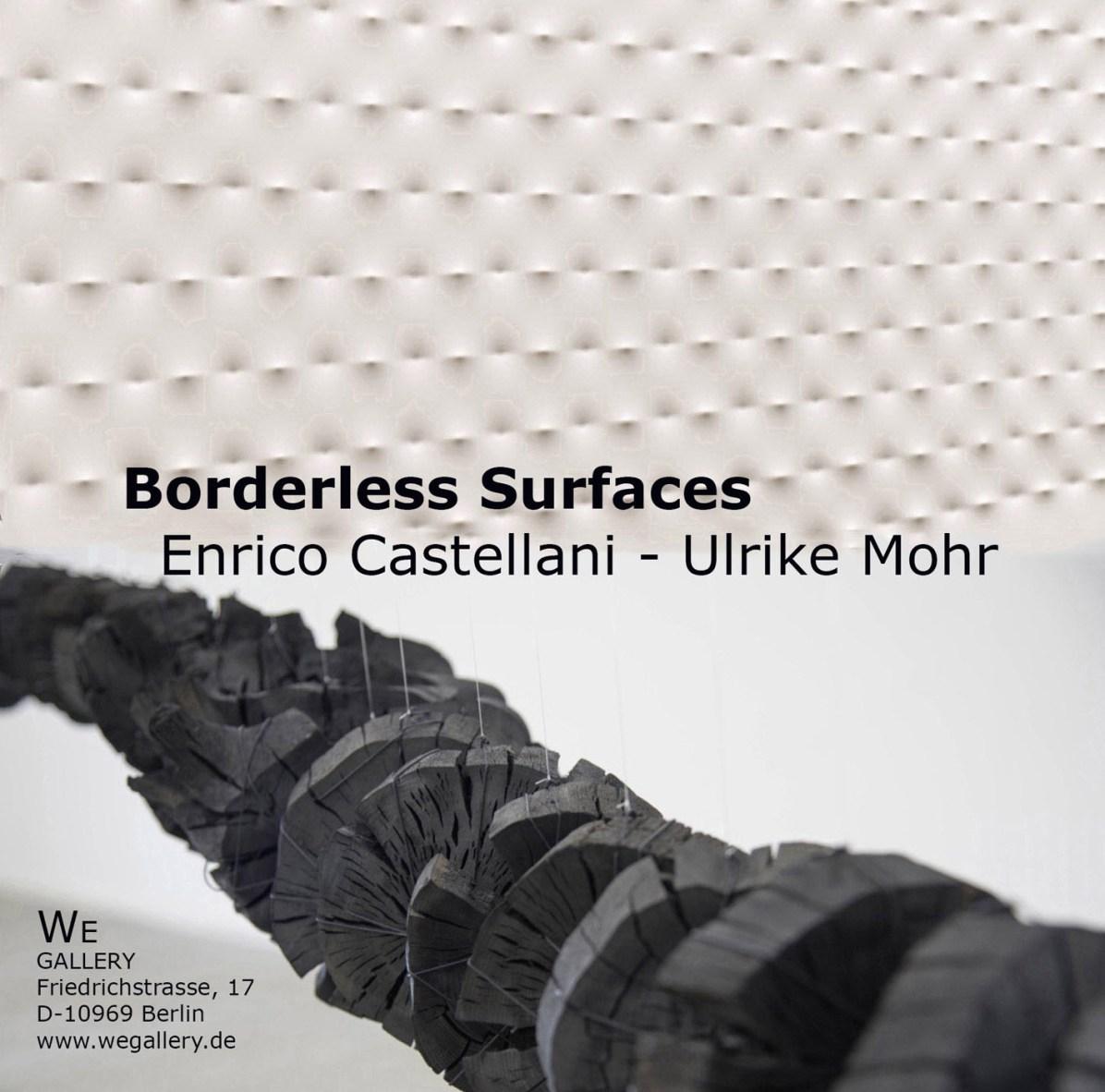 Enrico Castellani - Ulrike Mohr / Borderless Surfaces