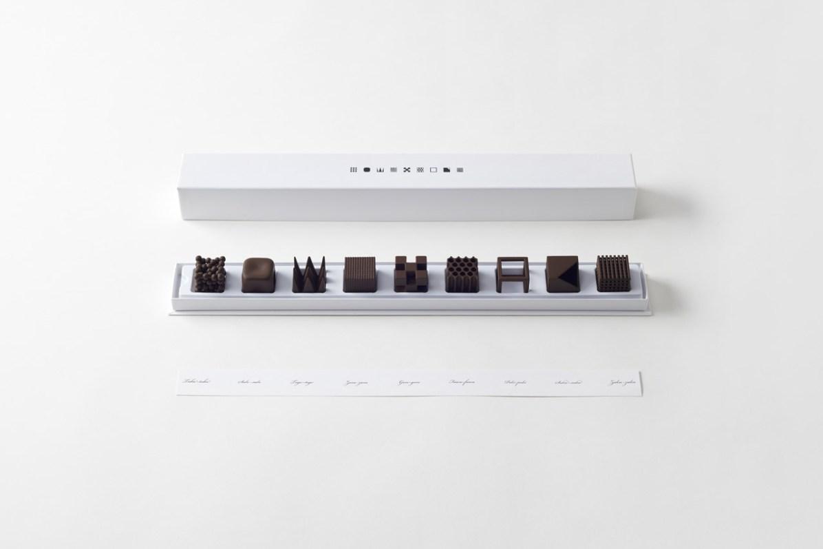Chocolatexture, Nendo. Ph. Akihiro Yoshida
