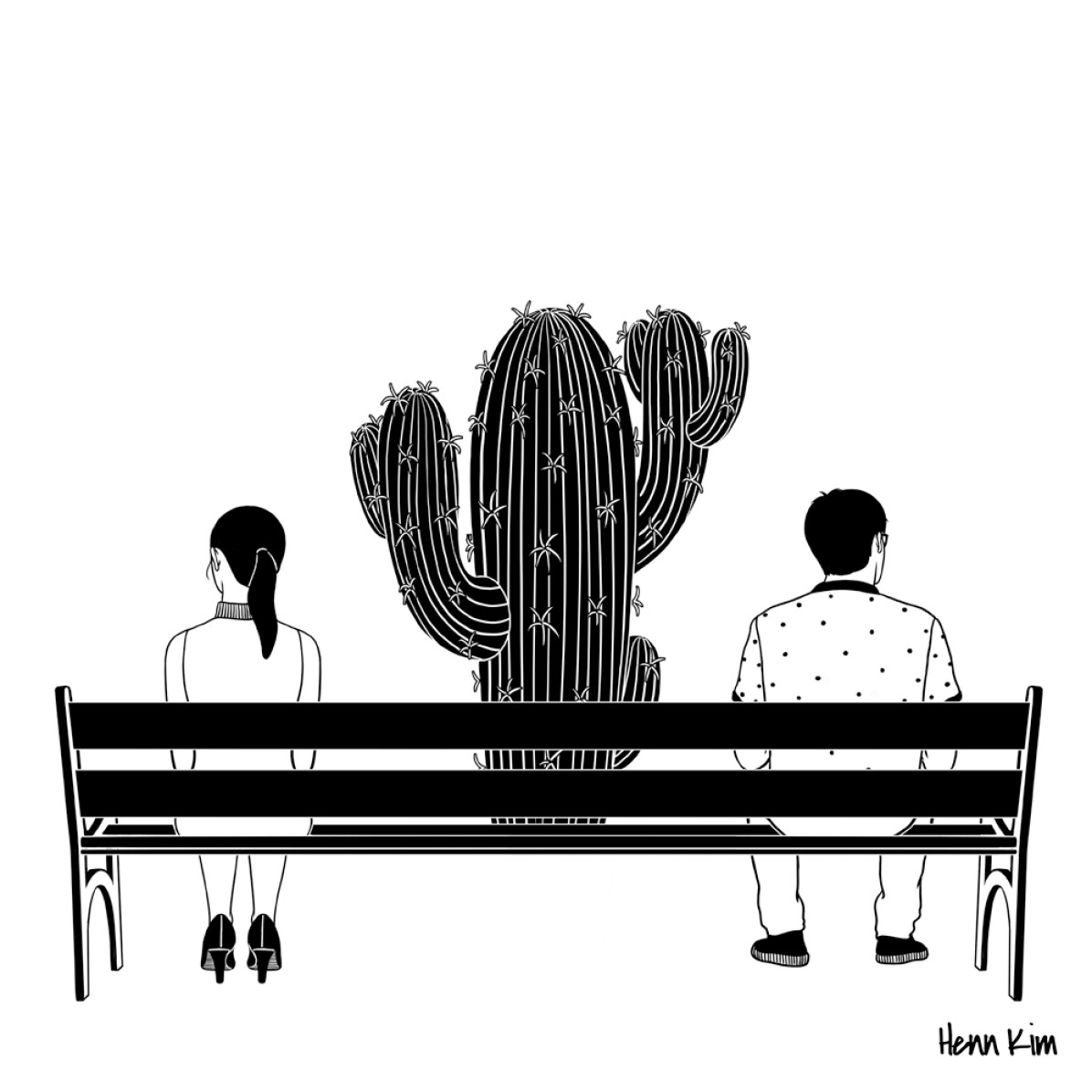 Loud Silence Between Us - Henn Kim