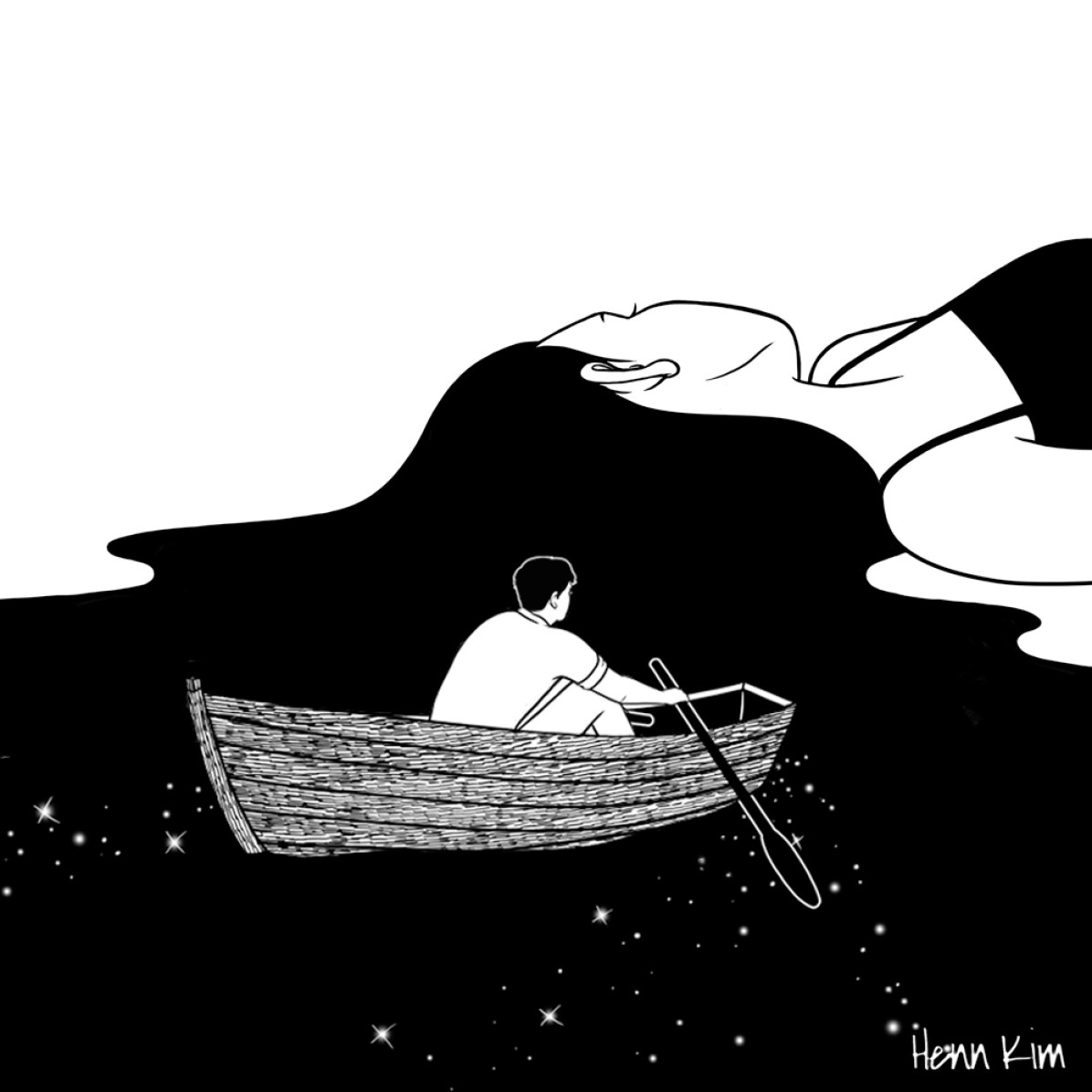 Rowing to you - Henn Kim