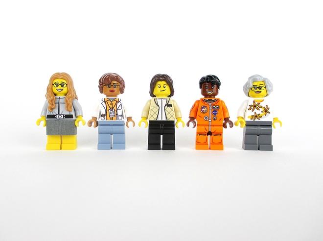 Margaret Hamilton, Katherine Johnson, Mai Jemison, Sally Ride, Nancy Grace