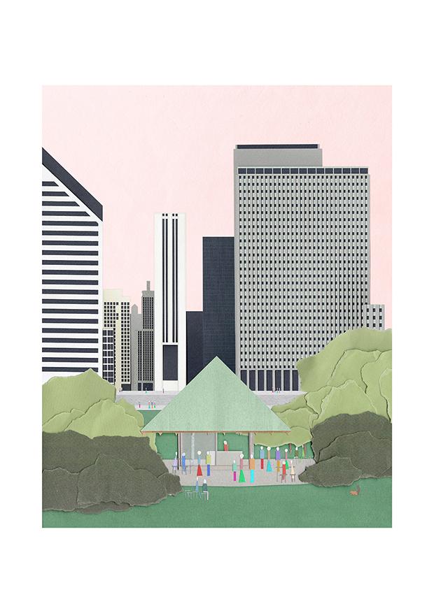 FALA Chicagokiosk / Desplans
