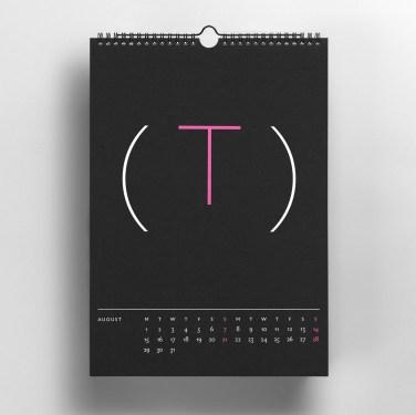 Backside Calendar - Toby Ng Design