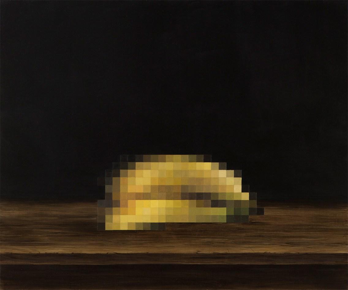 Natura morta I , olio su lino, 50x60cm, 2016