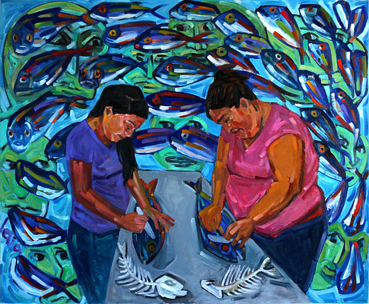 Fish Cleaner - Rosa and Ruth