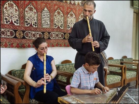 Syria, Nebek. Music school