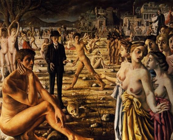 Paul Delvaux – La ville inquiète