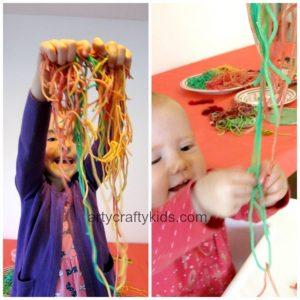 Arty Crafty Kids - Sensory play Monster Pizza