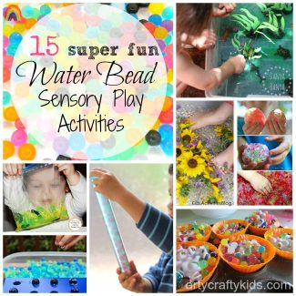 Arty Crafty Kids - 15 Water Bead Sensory Play Activities