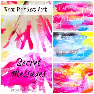 Arty Crafty Kids - Wax Resist Art
