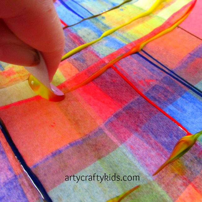 arty crafty kids art scrape painting - Images To Paint For Kids