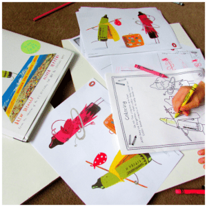 Arty Crafty Kids - Book Club - The Day the Crayons Came Home Book Review