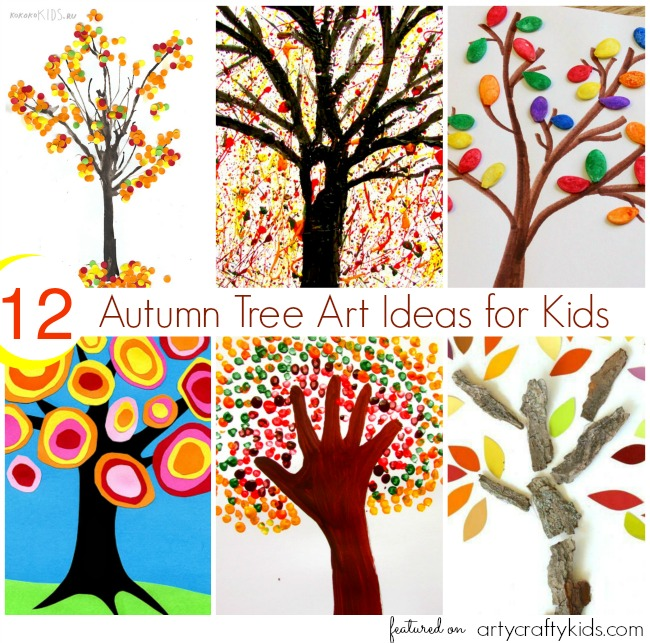 Autumn Tree Craft Preschool