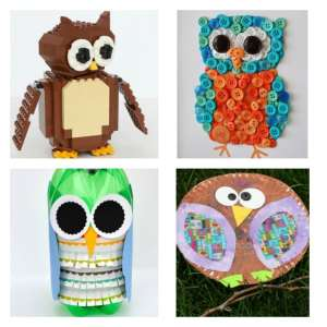 Arty Crafts Kids - Crafts - Craft Ideas for Kids - 25 Owl Crafts for Kids