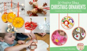 Arty Crafty Kids - Craft - Christmas Craft for Kids - Baby Footprints Christmas Ornament