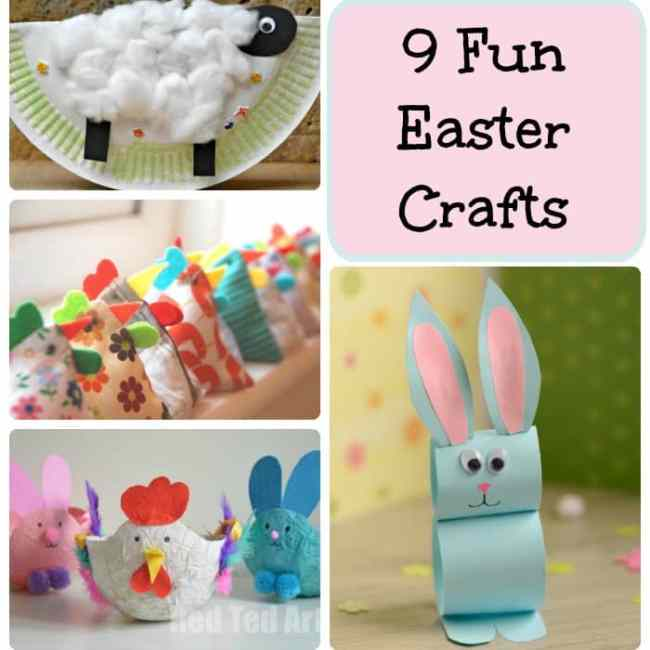 9 Fun Easter Crafts - Arty Crafty Kids
