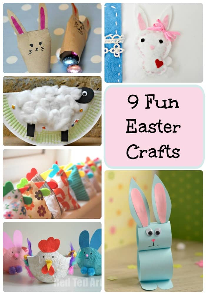 Arty Crafty Kids | Easter | 9 Fun Easter Crafts | Fun and Easy Easter crafts for kids