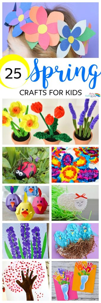 Easy spring crafts for kids arty crafty kids for Crafts for kids com