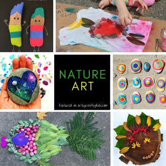 Arty Crafty Kids | Art | Bold Beautiful Nature Art for Kids | 24 Stunning art nature art projects for kids