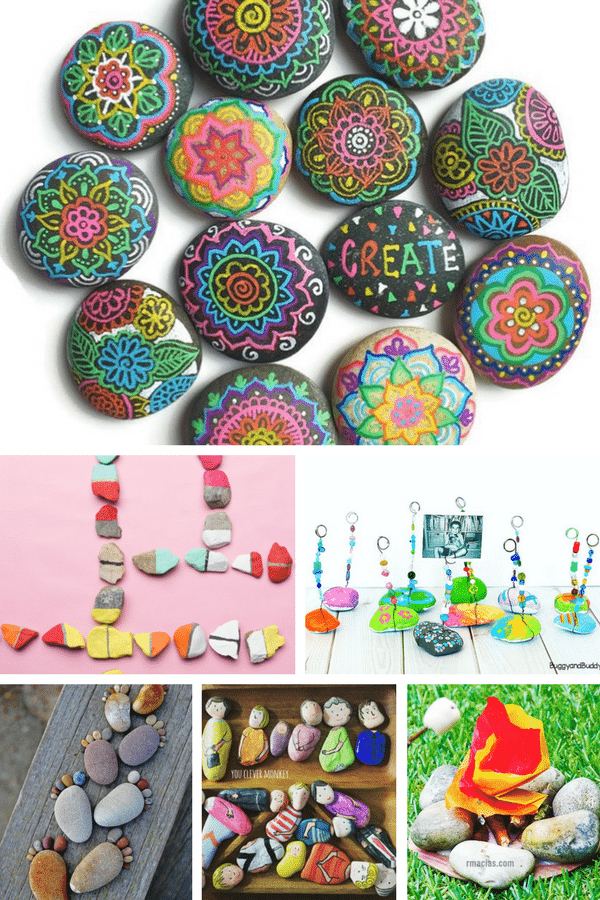 Arty Crafty Kids   Craft   Creative Rock Crafts for Kids   Create rock pets, rock puzzles, rock art and much much more with this gorgeous collection of 26 Rock Crafts for Kids!