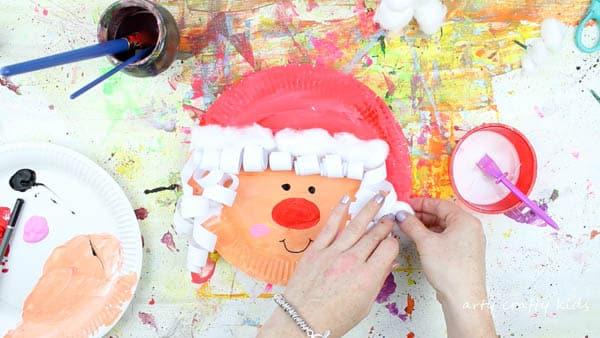 Arty Crafty Kids   Christmas   Paper Plate Mrs Claus Christmas Craft for Kids #christmascraft #Santacraft #Christmascraftsforkids