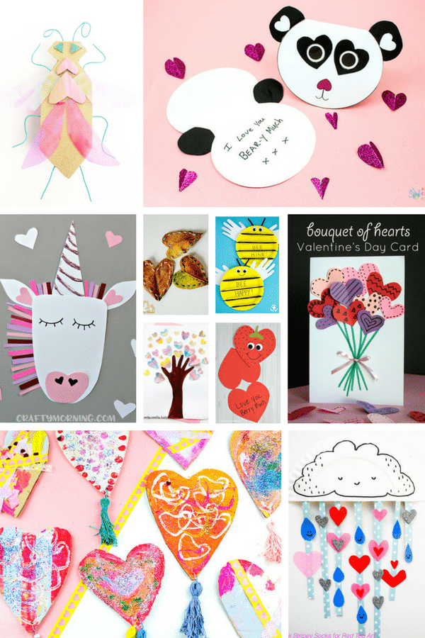 Arty Crafty Kids | Valentine's Day Crafts for Kids | The 'Must See' collection of Valentine's Crafts for Kids #craftsforkids #valentinescrafts #kidscrafts