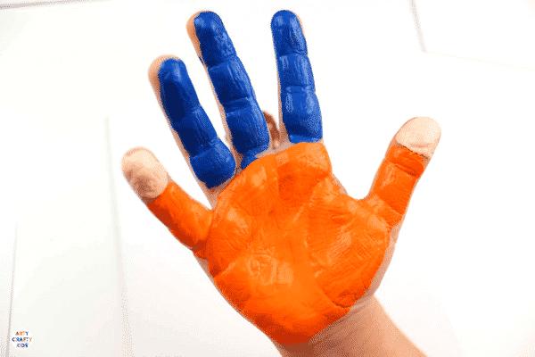 Arty Crafty Kids   Handprint Art for Kids   Handprint Fathers Day Art #fathersday #fathersdayprojectsforkids #fathersdaycardsforkids #kidsfathersdayart #kidsfathersdaycraft
