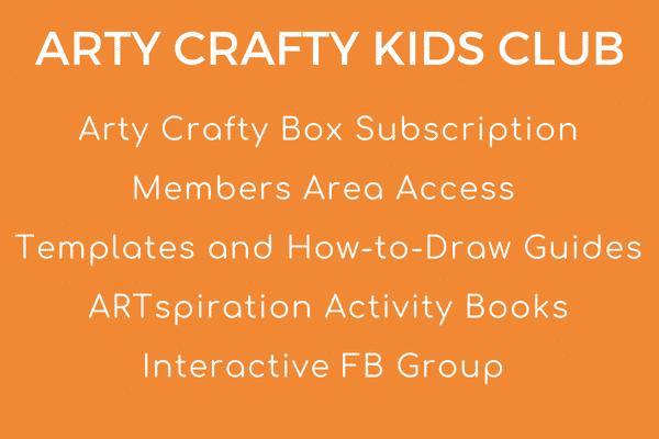 Arty Crafty Kids Club