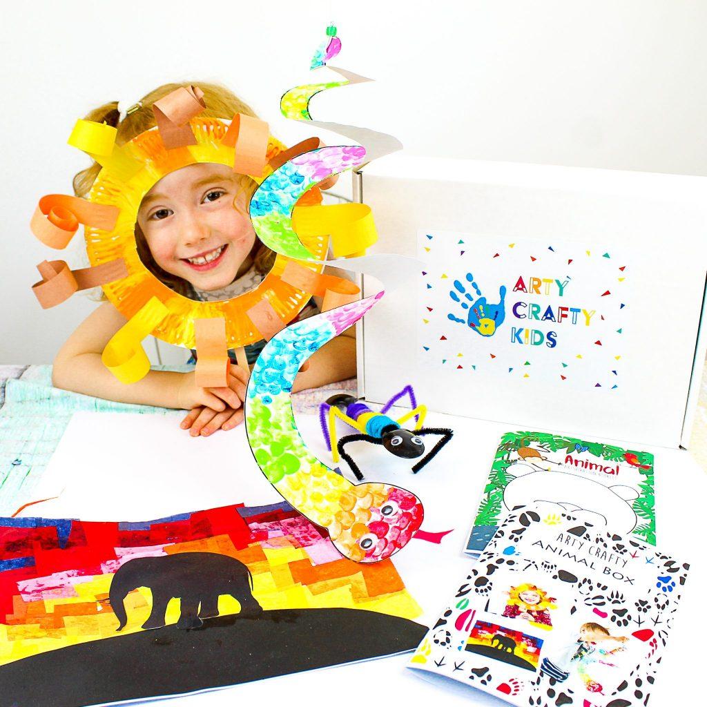 Arty Crafty Animal Box