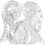 Arty Crafty Kids   Penguin Family Coloring Page