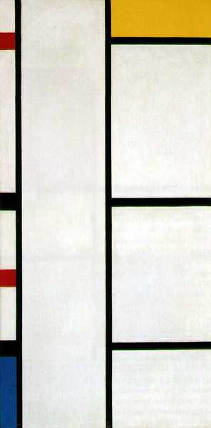 Piet Mondrian - Composition No.3 with White and Yellow, 1935-42