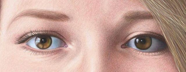 Color Pencil Portraits - How to Draw the Eyes