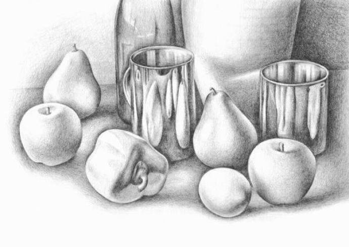 Still Life Techniques - Pencil Drawing