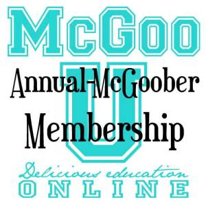 Annual-McGoober