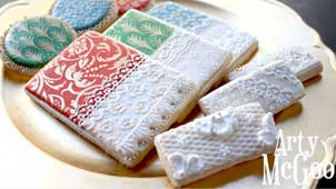 Cookie Decorating 101 Lace Cookies