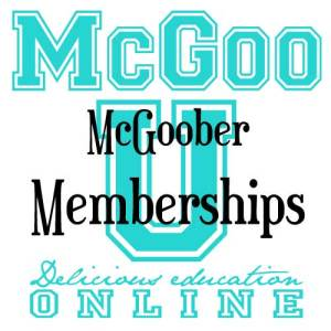 McGoo U Memberships