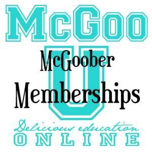 McGoo U Memberships
