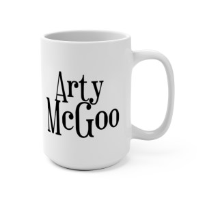 Arty Mug 15oz