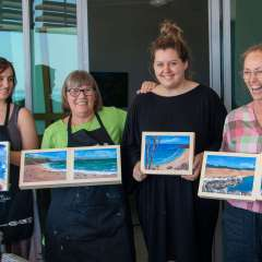 Arty Obsessions Workshop – Seascapes