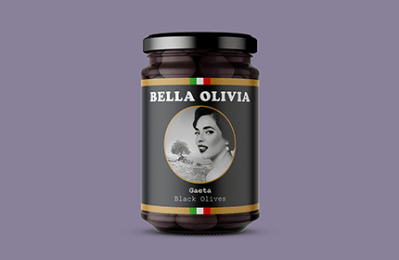Bella Olivia Visual Identity